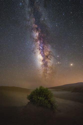 Milky Way The Empty Quarter Rub Khali Took This