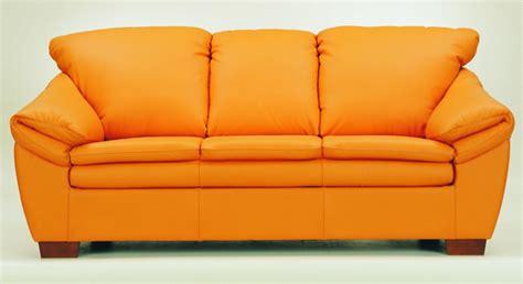 canap orange mod les 3d sur le canap orange douce 3d model