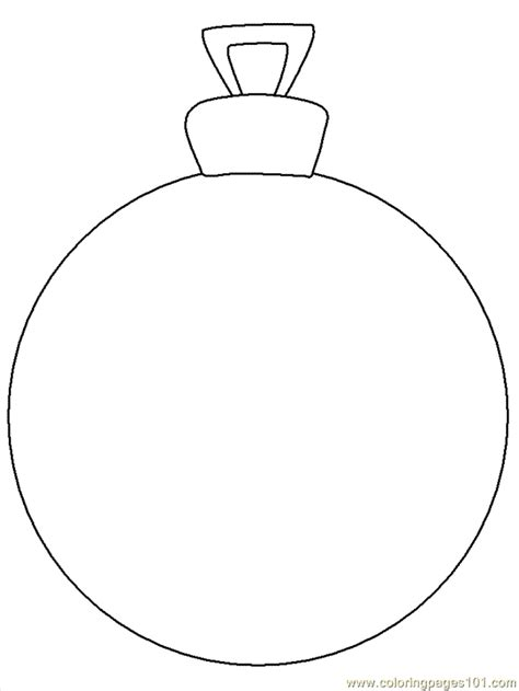 christmas ornaments coloring cut out ornament printable decorations images templates ornament