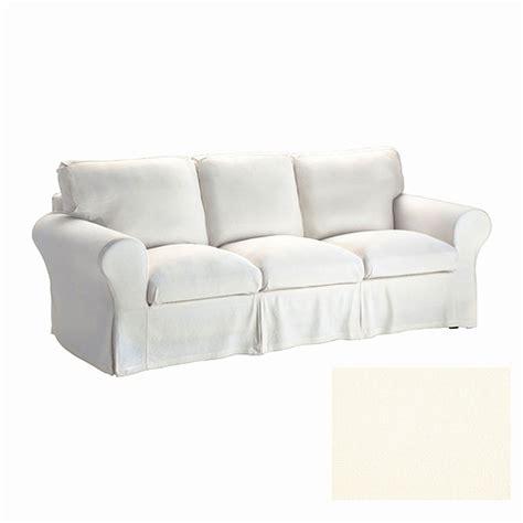 white slip covered sofa white slipcovered sofa ikea smileydot us