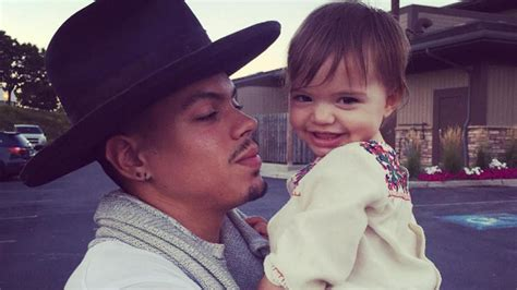 evan ross shares adorable  pic  daughter jagger snow