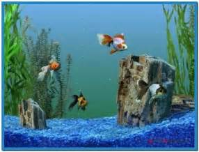 Free Goldfish Aquarium Screensaver