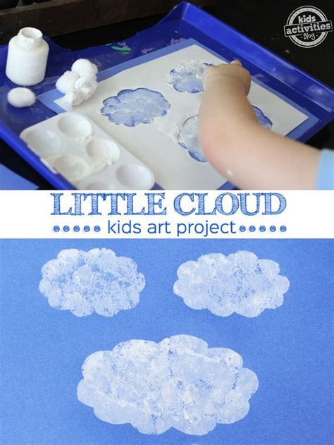 cloud inspired by eric carle teaching earth science 240 | cf92786d0260388ed0a3cd9b49f31528 weather activities preschool preschool art projects