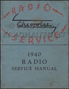 1940 Chevrolet Cd Repair Shop Manual  Body Manual And