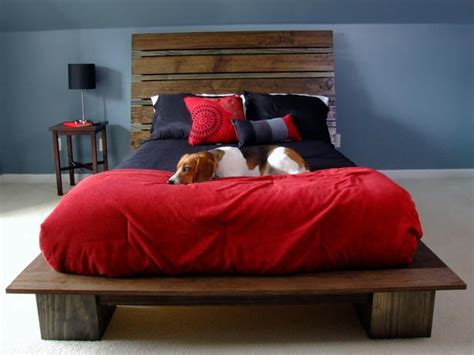 How To Build A Platform Bed by How To Build A Modern Style Platform Bed With Headboard