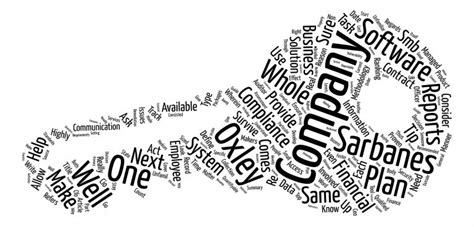 sox reporting framework sox compliance reciprocity