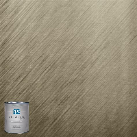 ppg interior paint ppg metallic tones 1 qt mtl125 cress metallic