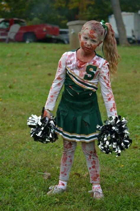 dead cheerleader costume  cosplay halloween