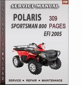 Polaris Sportsman 800 Efi 2005 Factory Service Repair