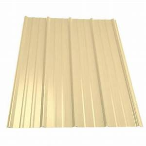 metal sales 16 ft classic rib steel roof panel in light With 18 foot metal roofing