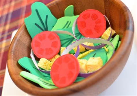 salad fun family crafts