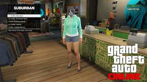 GTA 5 Online - Clothing Outfit Creator Feature - GTA 5 Online Leak (GTA 5 DLC) - YouTube