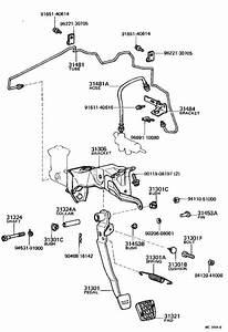 Toyota Corolla Hose  Clutch  Clutch  No  1  Driveline  Mtm