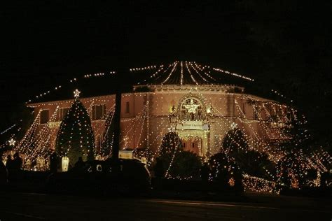 balian mansion has thousands of christmas lights and has