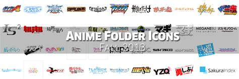 Coming Soon Anime Summer 2018 Folder Icon Pack By Kiddblaster Anime Folder Icons Free Fall 2013