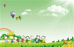 Day Powerpoint Cartoon Character Children 39 S Day Ppt Background Picture