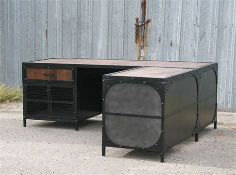 custom made kitchen islands combine 9 industrial furniture industrial desk
