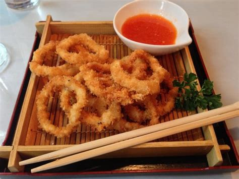 hana japanese cuisine angry on top godzilla roll on bottom godzilla was