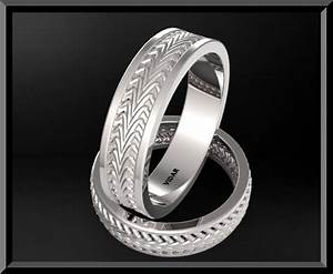 Unique Matching His And Hers Wedding Bands Classic Rings