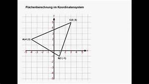 Koordinatensystem Berechnen : fl chen im koordinatensystem youtube ~ Themetempest.com Abrechnung