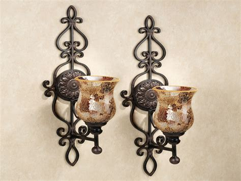 Large Candle Wall Sconces Lighting
