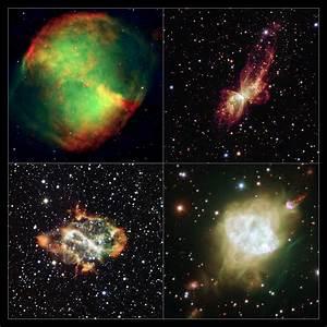 Hubble and NTT Capture Strange Alignment of Planetary Nebulae