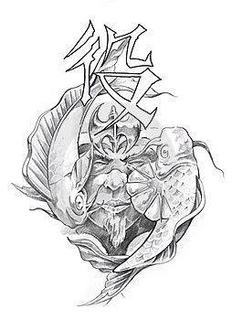 ideas  japanese tattoo art  pinterest grey