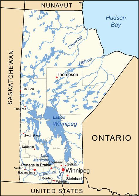 Geography Manitoba Wikipedia