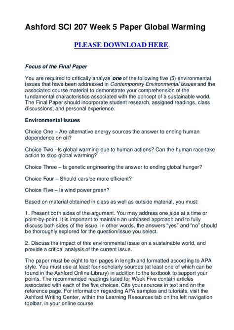 Global Trends Essay Example for Free