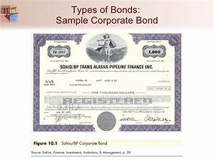 chapter 10 the bond market With corporate bond certificate template