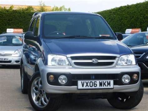 Used 2006 (06 Reg) Metallic Blue Daihatsu Terios 1.3 Sport