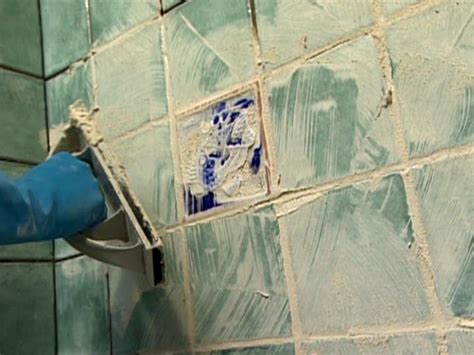 grouting tile  tos diy