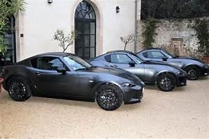 Mazda Mx 5 Rf Occasion : mazda mx 5 rf nous tions son volant verdict venir images le mag auto prestige ~ Medecine-chirurgie-esthetiques.com Avis de Voitures