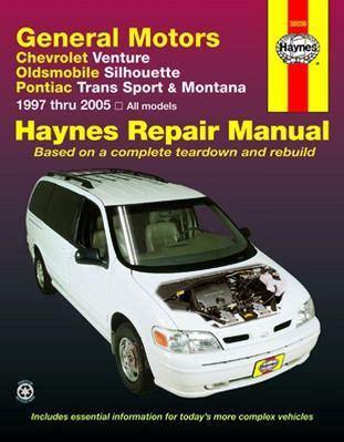 auto repair manual online 1991 pontiac trans sport instrument cluster chevrolet venture olds silhouette pontiac trans sport montana haynes repair manual 1997