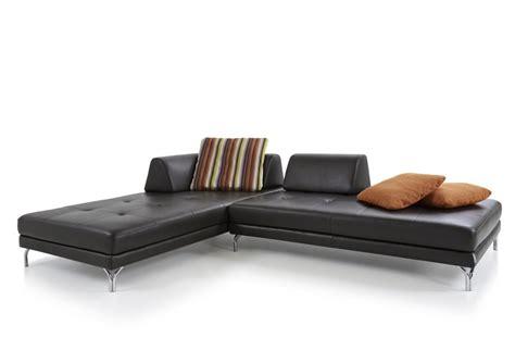 chaise longue cuir chaise longue modulable elements en cuir