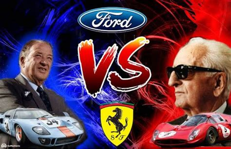 To think that all it took was a gutsy business deal, which promptly fell flat on its. Ford Vs Ferrari   An Epic Rivalry   A True Story