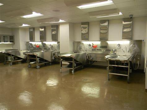 Funeral Embalming Rooms