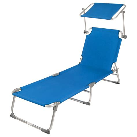 folding chaise lounge with 5 reclining positions