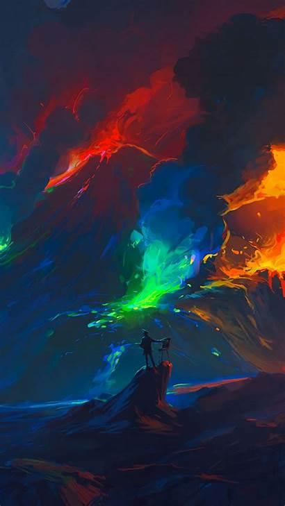 Keren Colorful Fantasy Iphone Wallpapers Gambar Android