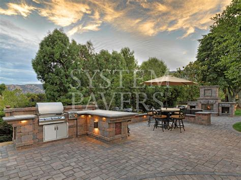 Backyard Island by Bbq Islands Design Installation Services System Pavers