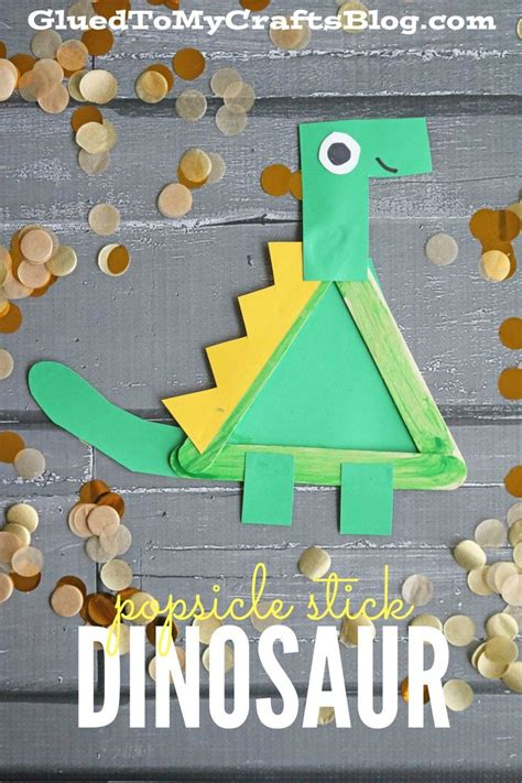 popsicle stick dinosaur kid craft activities 504 | 2856cdc132379eeee9c8c455b1dc7e5c popsicle crafts popsicle stick crafts for kids easy