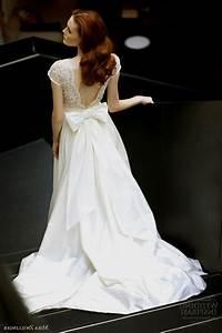 open back a line wedding dresses naf dresses With wedding dress with bow on back
