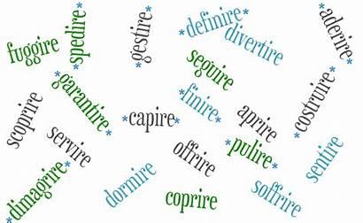 Verbs Italian Irregular Common Regular Verb English