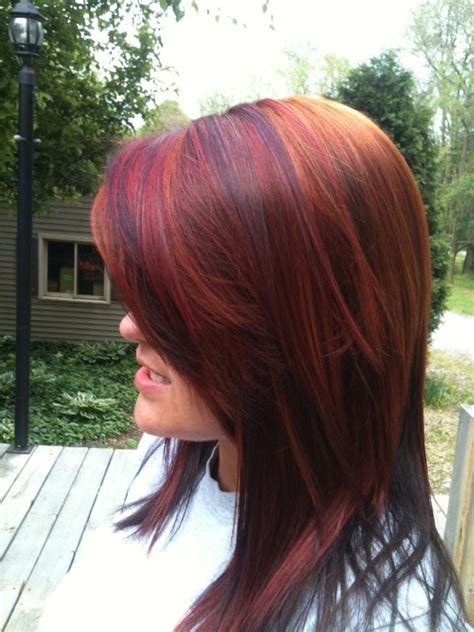 dimensional color multi dimensional reds and coppers kenra color is amazing