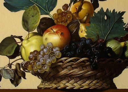 canestra  frutta  caravaggio disegno pittura