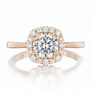 tacori engagement rings pretty in pink rose gold With tacori wedding rings rose gold