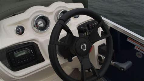Tahoe Boat Gauges by Tahoe 24 Lt Lounge Pontoon Deck Boat Magazine