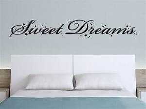 Wandtattoo Sweet Dreams : traumhaftes wandtattoo sweet dreams mit sternen von ~ Whattoseeinmadrid.com Haus und Dekorationen
