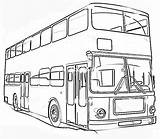 Coloring Transportation Pages Printable Bus Land Double Decker Vehicle Vehicles Air Transport Means Train Colouring Getcolorings Types Sheets Popular Road sketch template