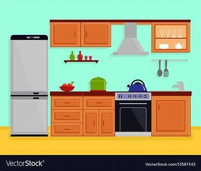 Kitchen Vector Furniture Interior Vectors
